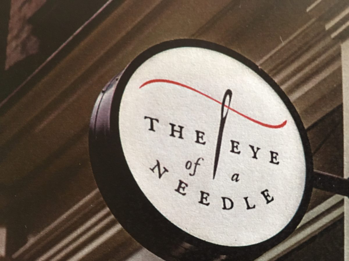 The Eye of a Needle, Sewing Shop Taupo, Fabric Shop, Sewing Supplies